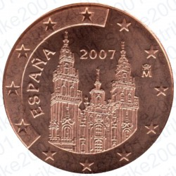 Spagna 2007 -5 Cent. FDC