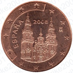 Spagna 2008 - 2 Cent. FDC