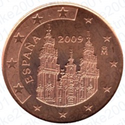 Spagna 2009 - 1 Cent. FDC