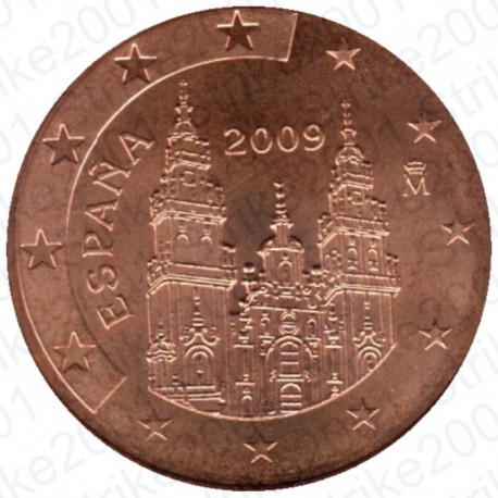 Spagna 2009 - 2 Cent. FDC
