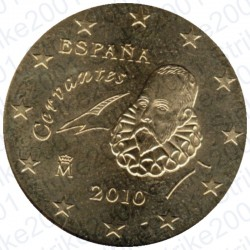 Spagna 2010 - 10 Cent. FDC