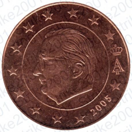 Belgio 2005 - 5 Cent. FDC