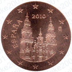 Spagna 2010 - 2 Cent. FDC
