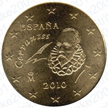 Spagna 2010 - 50 Cent. FDC