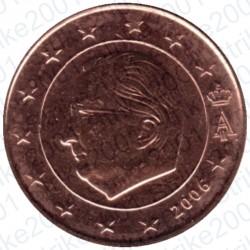 Belgio 2006 - 1 Cent. FDC
