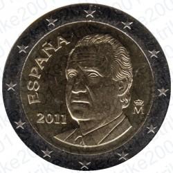 Spagna 2011 - 2€ FDC