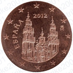 Spagna 2012 - 2 Cent. FDC