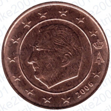 Belgio 2006 - 2 Cent. FDC