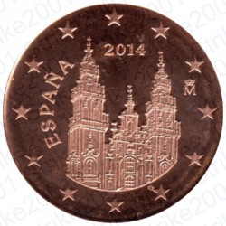 Spagna 2014 - 2 Cent. FDC