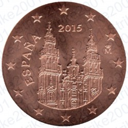 Spagna 2015 - 2 Cent. FDC