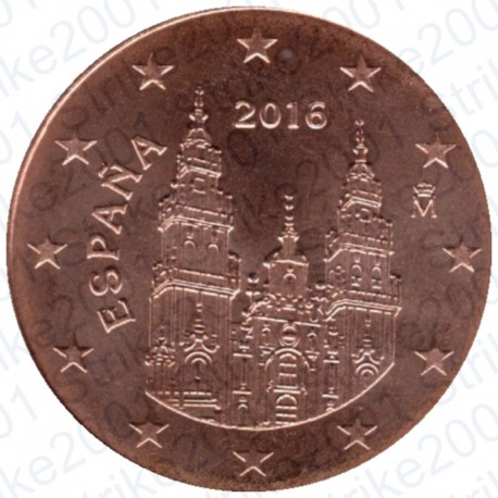 Spagna 2016 - 2 Cent. FDC