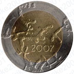 Finlandia - 5€ 2007 FDC Indipendenza