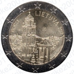 Lituania - 2€ Comm. 2017 FDC Capitale Cultura e Arte