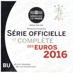 Francia - Divisionale Ufficiale 2016 FDC