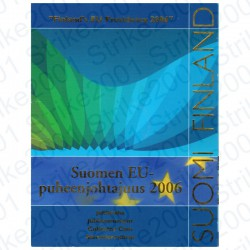 Finlandia - 5€ 2006 FDC Presidenza Europea in Folder