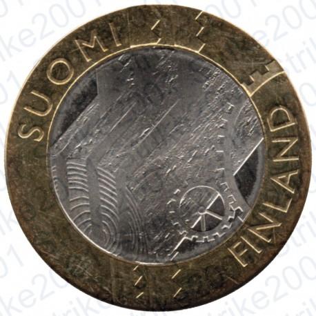 Finlandia - 5€ 2011 FDC Province Storiche V