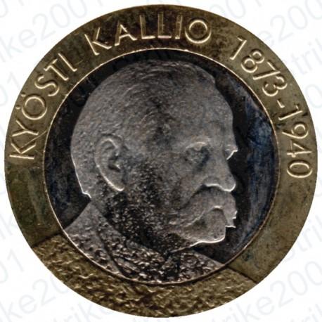 Finlandia - 5€ 2016 FDC Presidente Kallio
