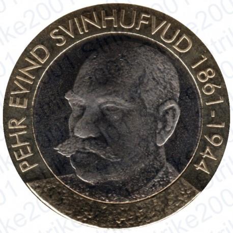 Finlandia - 5€ 2016 FDC Presidente Svinhufvud