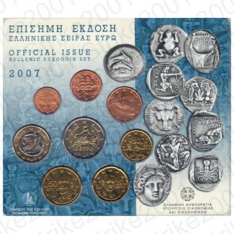 Grecia - Divisionale Ufficiale 2007 FDC