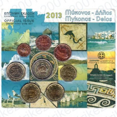 Grecia - Divisionale Ufficiale 2013 FDC