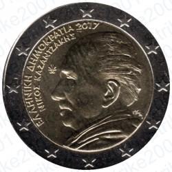 Grecia - 2€ Comm. 2017 FDC Kazantzakis