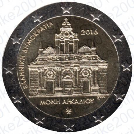 Grecia - 2€ Comm. 2016 FDC Arkadi