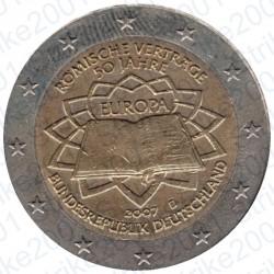 Germania - 2€ Comm. 2007 FDC Trattato Roma