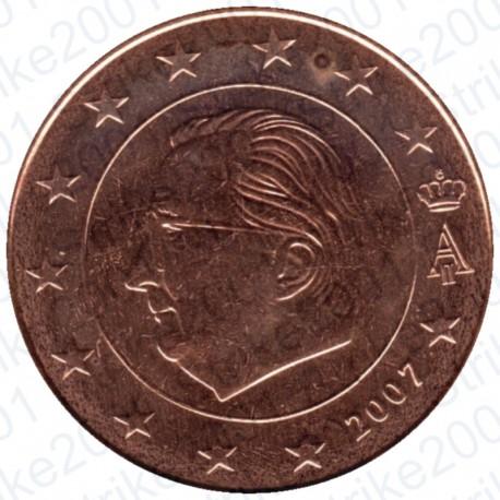 Belgio 2007 - 5 Cent. FDC