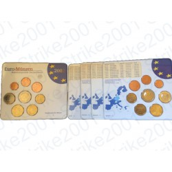 Germania - Divisionale Ufficiale A-D-F-G-J 2002 FDC