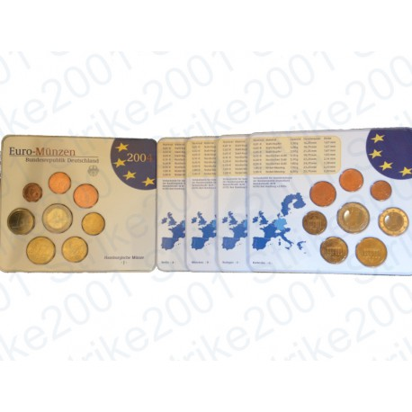 Germania - Divisionale Ufficiale A-D-F-G-J 2004 FDC