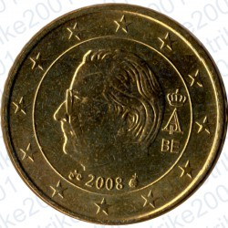 Belgio 2008 - 50 Cent. FDC