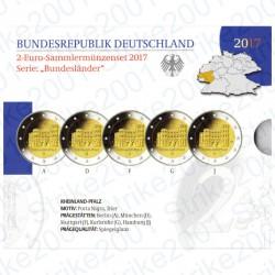 Germania - 2€ Comm. 5 Zecche 2017 FOLDER FS Porta Nigra di Treviri