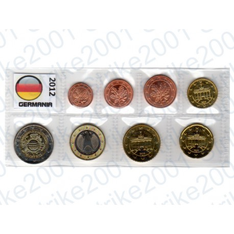 Germania - Blister 2012 FDC