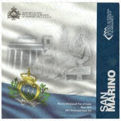 San Marino - Divisionale Ufficiale 2012 FDC