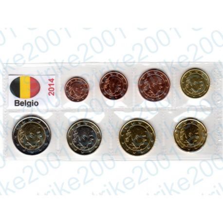 Belgio - Blister 2014 FDC