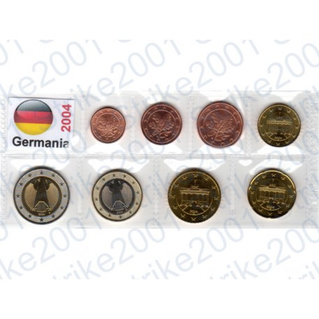 Germania - Blister 2004 FDC