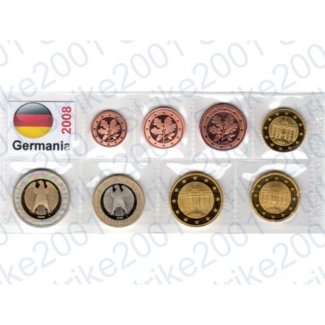 Germania - Blister 2008 FDC