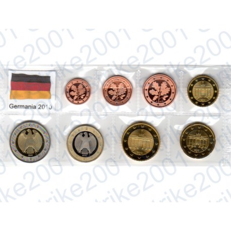 Germania - Blister 2010 FDC