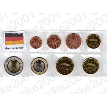 Germania - Blister 2011 FDC