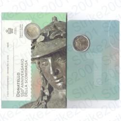 San Marino - 2€ Comm. 2016 FDC Donatello in Folder