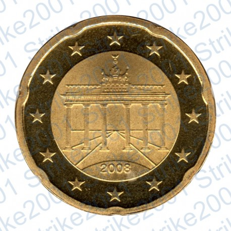 Germania 2008 - 20 Cent. FDC