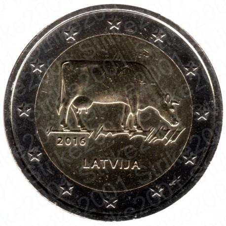 Lettonia - 2€ Comm. 2016 FDC Settore agro-alimentare