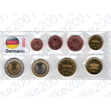 Germania - Blister 2002 FDC