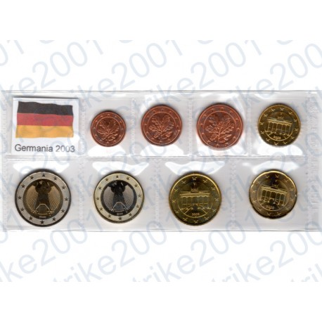 Germania - Blister 2003 FDC