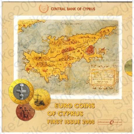 Cipro - Divisionale Ufficiale 2008 FDC