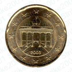 Germania 2003 - 20 Cent. FDC