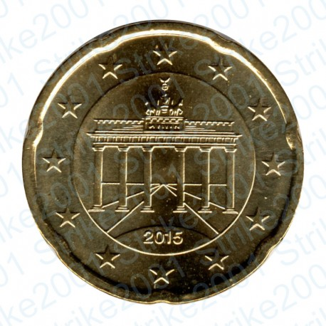 Germania 2015 - 20 Cent. FDC