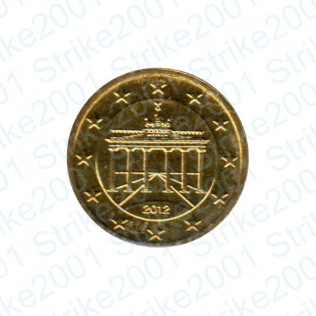 Germania 2012 - 10 Cent. FDC