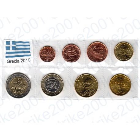 Grecia - Blister 2010 FDC