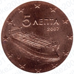 Grecia 2007 - 5 Cent. FDC